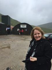 Sheila Fleet at Cononish Mine