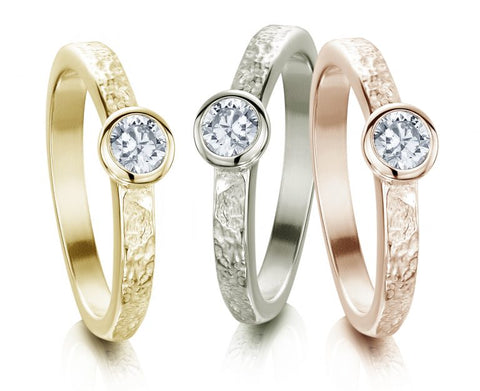 diamond matrix rings