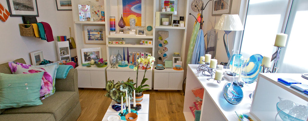 Scottish designer crafts in our upstairs gallery