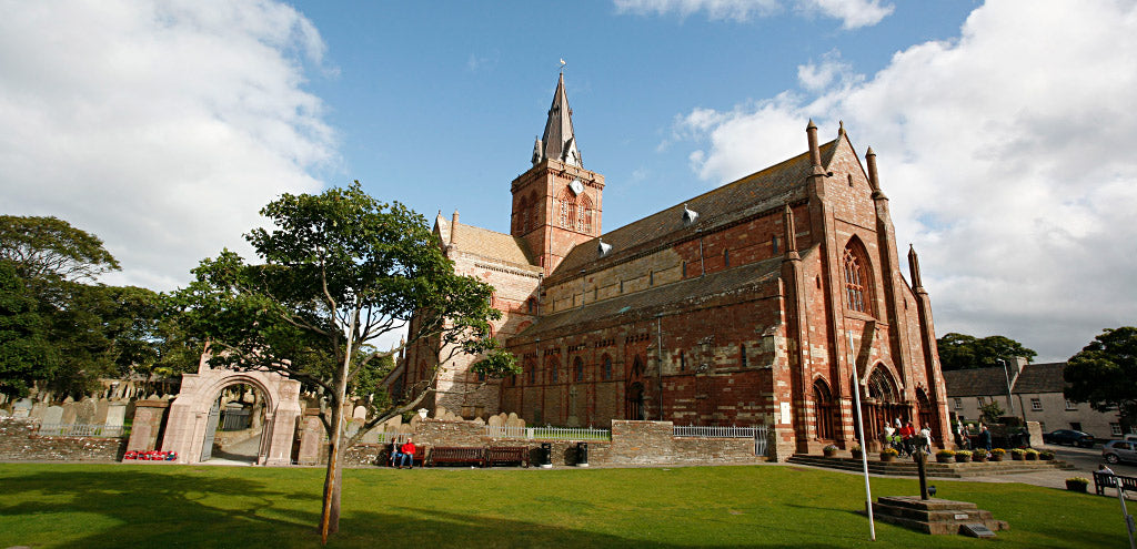 St Magnus Cathedral in the town of Kirkwall, Orkney's capital (Photo: Rick Fleet)