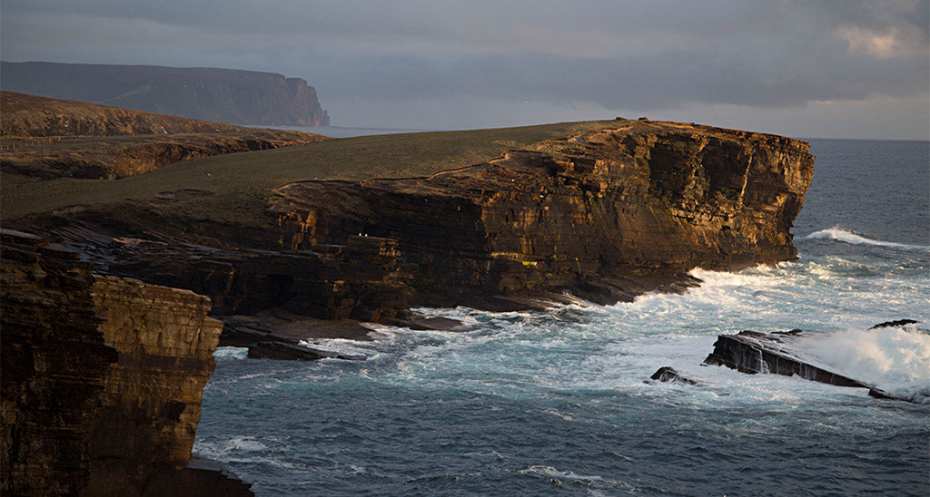 The cliffs of Yesnaby in Orkney's West Mainland never fail to impress (Photo: Martin Fleet)