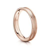 Halo Ring in 9ct Rose Gold by Sheila Fleet Jewellery