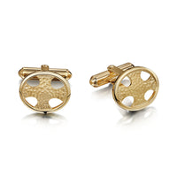 Cross of the Kirk Cufflinks in 9ct Yellow Gold