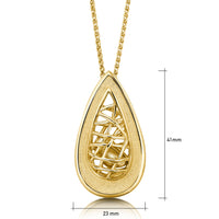 Tidal Treasures Pendant Necklace in 9ct Yellow Gold