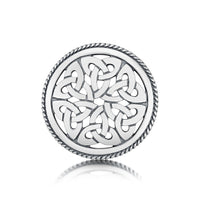 Book of Kells Brooch in Sterling Silver by Sheila Fleet Jewellery