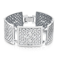 Book of Kells Dress Bracelet in Sterling Silver by Sheila Fleet Jewellery