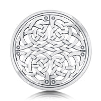 Book of Kells Dress Brooch in Sterling Silver by Sheila Fleet Jewellery