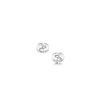 Captivate Small Stud Earrings in Sterling Silver by Sheila Fleet Jewellery