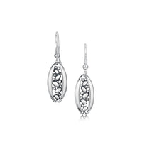 Captivate Drop Earrings in Sterling Silver by Sheila Fleet Jewellery