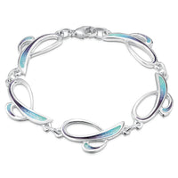 Scapa Flow Enamelled Bracelet in Sterling Silver