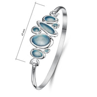 Shoreline Pebble Cluster Bangle by Sheila Fleet Jewellery