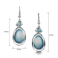 Shoreline Pebble 2-pebble Occasion Drop Earrings by Sheila Fleet Jewellery