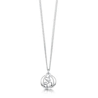 Captivate Small Pendant Necklace in Sterling Silver by Sheila Fleet Jewellery