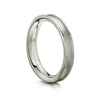 Halo Ring in Platinum by Sheila Fleet Jewellery
