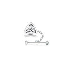 Book of Kells Tie Tack in Sterling Silver by Sheila Fleet Jewellery