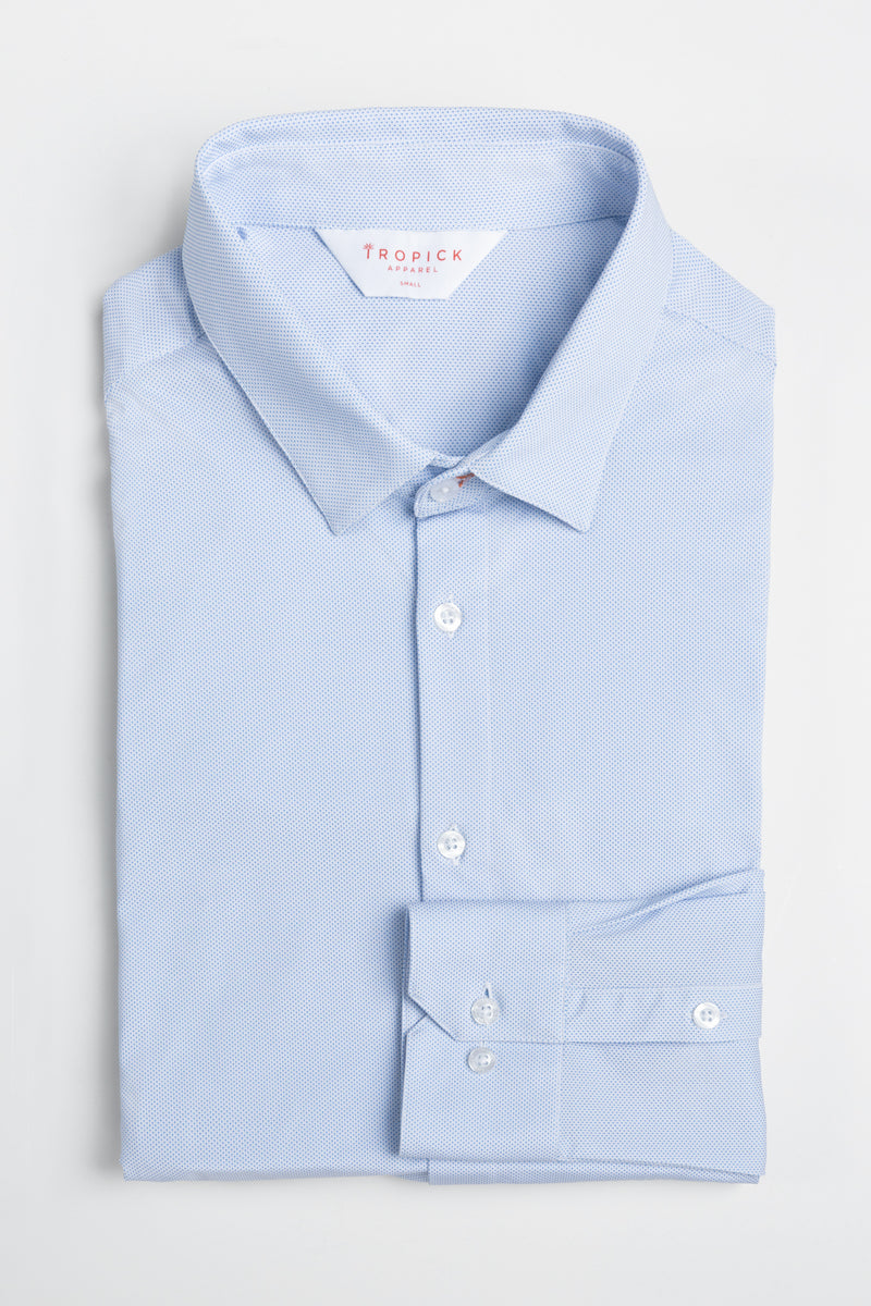 Take it Breezy Shirt in Sky Blue