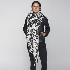 Maverick Black Shawl