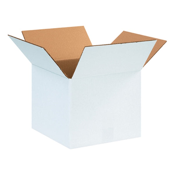 White Shipping Boxes