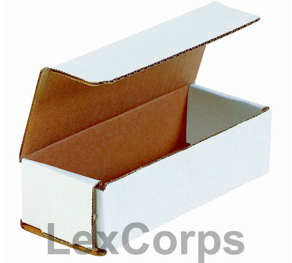 10x3x3 White Corrugated Mailers