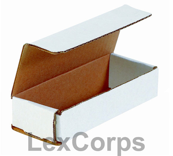 10x4x2 White Corrugated Mailers