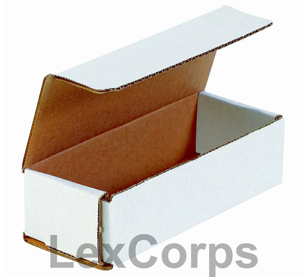 10x4x3 White Corrugated Mailers