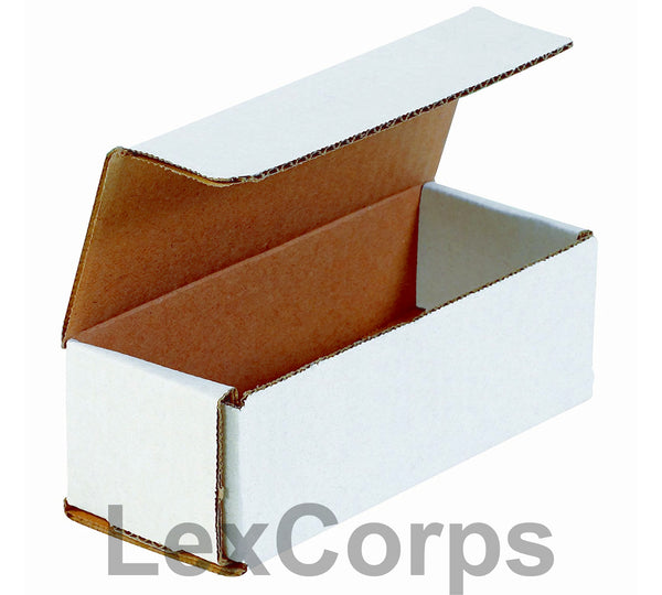 10x4x4 White Corrugated Mailers
