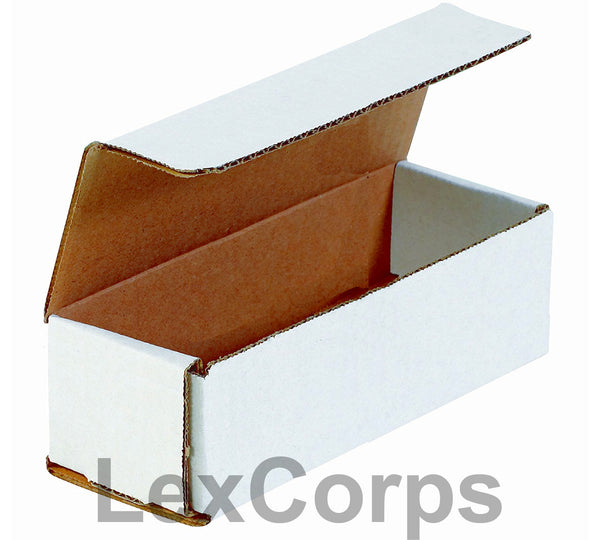 12x4x4 White Corrugated Mailers