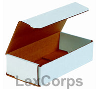 12x6x4 White Corrugated Mailers