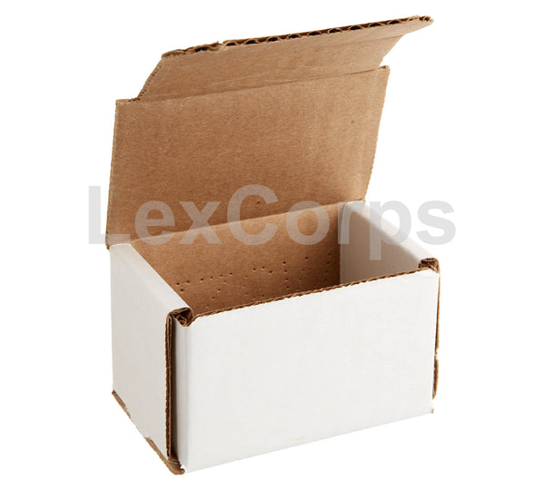 3x2x2 White Corrugated Mailers