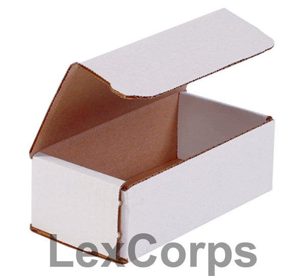 6x3x2 White Corrugated Mailers