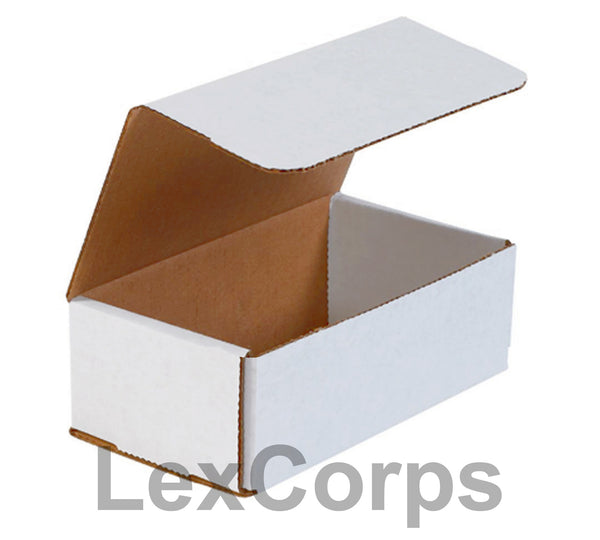 7x4x2 White Corrugated Mailers