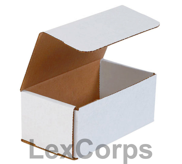 7x4x3 White Corrugated Mailers