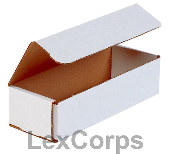 8x3x2 White Corrugated Mailers