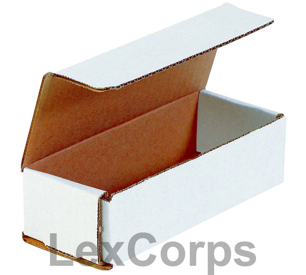 9x2x2 White Corrugated Mailers