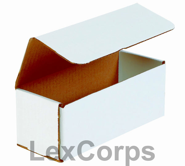 9x4x4 White Corrugated Mailers