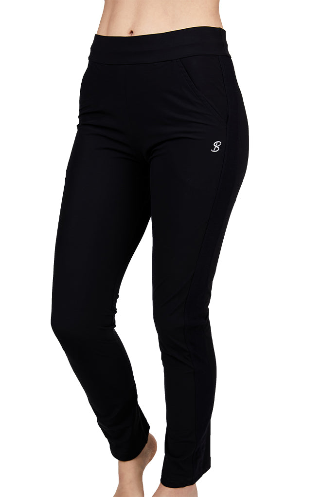 Golf Pant - Rose Anaconda