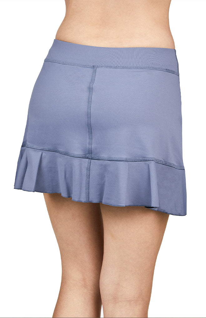 "15"" Skort - Rose Anaconda"