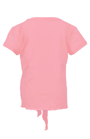 Girl's Short Sleeve Tie