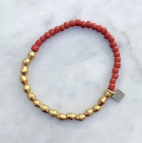 Sure Thing Bracelet / Clay NEW COLOR!!