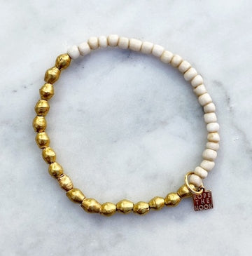 Sure Thing Bracelet / Cream NEW COLOR!