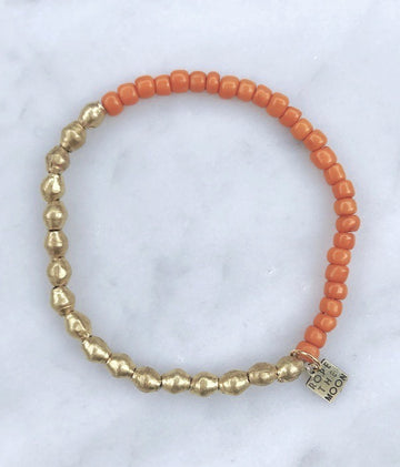 Sure Thing Bracelet / Orange