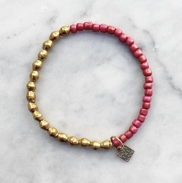 Sure Thing Bracelet / Pink NEW COLOR!!