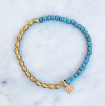 NEW!!  Sure Thing Bracelet / Turquoise