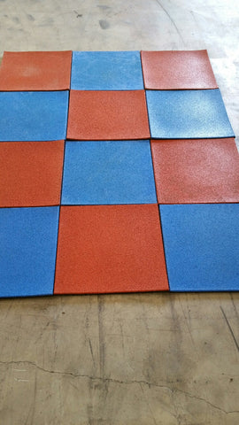 Recreational Rubber Tiles