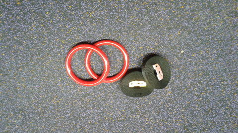 Vinyl Coated Steel Gym Rings