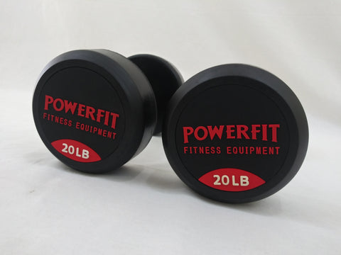 PowerFit Round Pro Style Dumbbells - Pricing is for a Pair