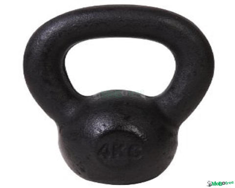 Wright Equipment Black Cast Iron Kettlebell