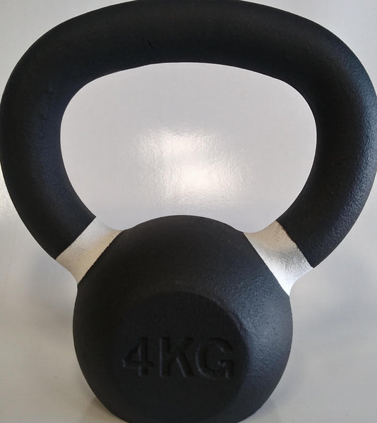 PowerFit Premium Black Kettlebells -FREE SHIPPING