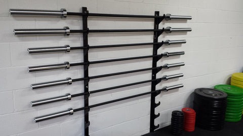 "Barbell ""gun"" rack-FREE SHIPPING"