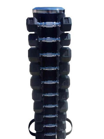 PowerFit Vertical Dumbbell Rack